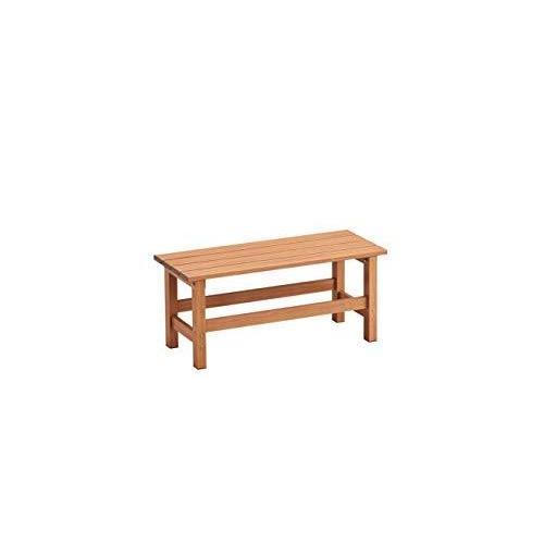 天馬 アルミ縁台 木目調 ブラウン 幅90×奥行36×高さ40cm 縁台90|shop-amakita