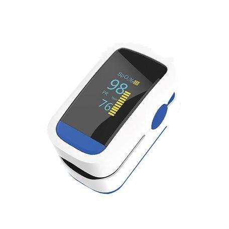 オキシナビ 血中酸素濃度計  【即納 当日出荷】脈拍計 酸素飽和度  ストップウォッチ機能 健康管理 送料無料 医療機器のパルスオキシメーターではありません|shop-angel