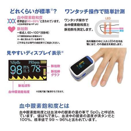 オキシナビ 血中酸素濃度計  【即納 当日出荷】脈拍計 酸素飽和度  ストップウォッチ機能 健康管理 送料無料 医療機器のパルスオキシメーターではありません|shop-angel|03