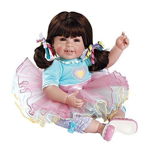 アドラ20インチドール トドラータイム シュガーラッシュ 着せ替え人形 ソフトボディ 身長50cmのリアル赤ちゃんサイズ