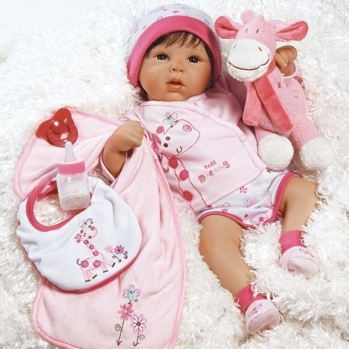 パラダイスギャラリーズParadise Galleries Reborn Baby Doll Lifelike Realistic Baby Doll, Tall Dreams Gift Set Ensemble,