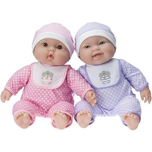 ジェーシートイズJC Toys Lots To Cuddle Babies Twin Dolls Designed by Berenguer