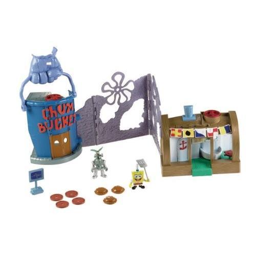 スポンジボブFisher-Price Nickelodeon Imaginext Krusty Krab Playset