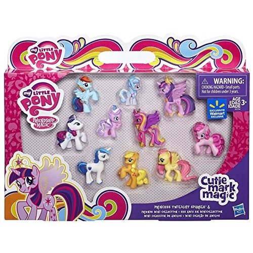 マイリトルポニーMy Little Pony Friendship is Magic Cutie Mark Magic Princess Twilight Sparkle & Friends Mini Collection