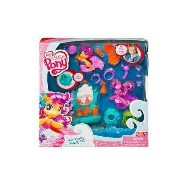 マイリトルポニーMy Little Pony Ponyville Pack Playset Get Pretty Beauty Set