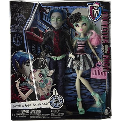 モンスターハイMonster High Love in Scaris Garrott du Roque & Rochelle Goyle Doll Pair