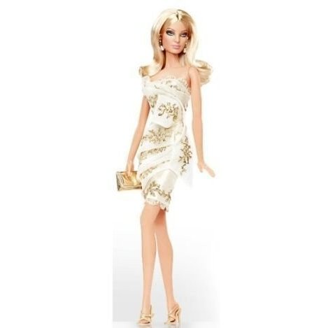 バービーBarbie Platinum Edition Glimmer of ゴールド Doll Designed By Robert Best Only 999 Dolls Worldwide