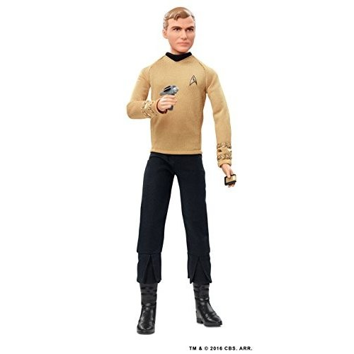 バービーBarbie Star Trek 50th Anniversary Kirk Doll
