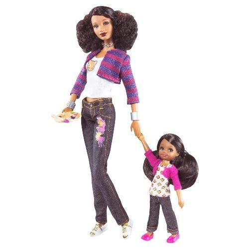 バービー人形Barbie So In Style Trichelle and Janessa DollsP6915