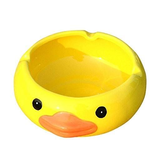 灰皿YOURNELO Ceramic Cute Duck Duck Cigarette Ashtray