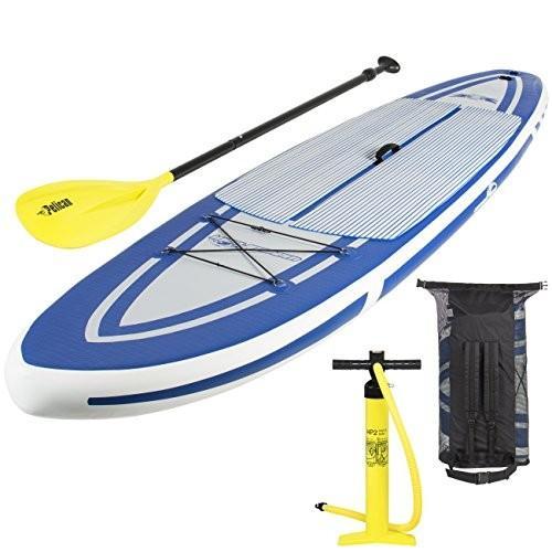 マリンスポーツBest Choice Products 10'5 Inflatable Stand Up Paddle Board Package Set IncludesSKY2534 Large