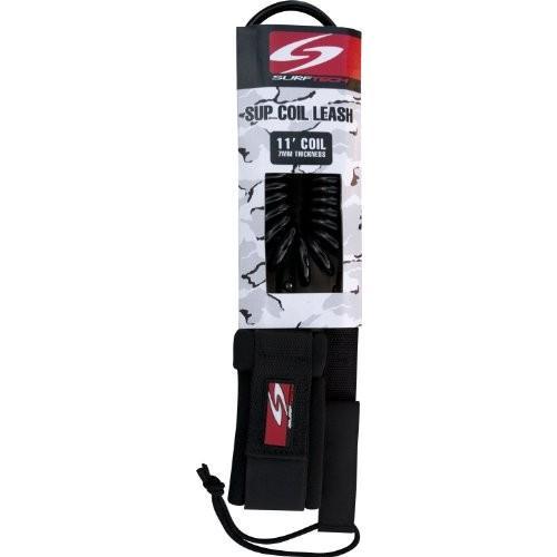 スタンドアップパドルボードSurftech Coil SUP Stand Up Calf Attachment Paddleboard Leash LSH0030 11 feet x 1/4-Inch