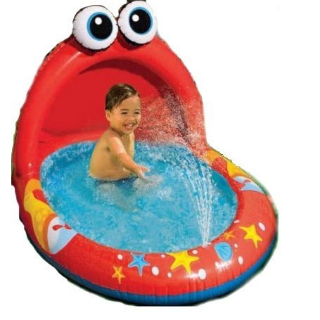 プールKids Inflatable Pool. This Small Portable Kiddie Blow Up Above Ground Swimming Pool is Great for Toddlers & Children to H