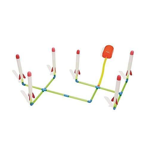 水鉄砲Radio Road Toys Mission Control Launch Links - 6 Piece Set