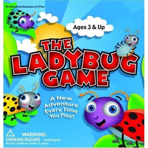 ボードゲームThe Ladybug Game | Great First Board Game For Boys and Girls | Educational Game | Award Winner