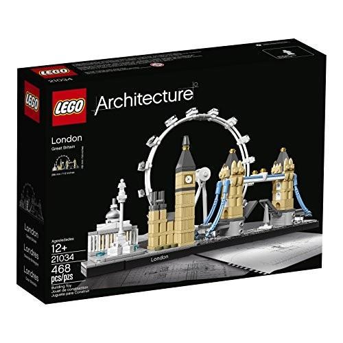 レゴLEGO Architecture London Skyline Collection 21034 Building Set Model Kit and Gift for Kids and Adults (468 pieces)