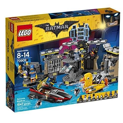 スーパーヒーローズTHE LEGO BATMAN MOVIE Batcave Break-in 70909 Superhero Toy6175818