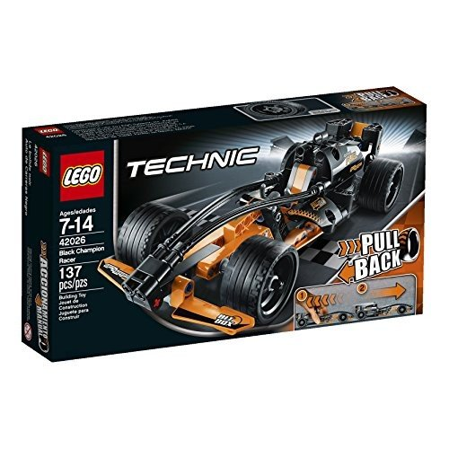 レゴLEGO Technic 42026 黒 Champion Racer Model Kit