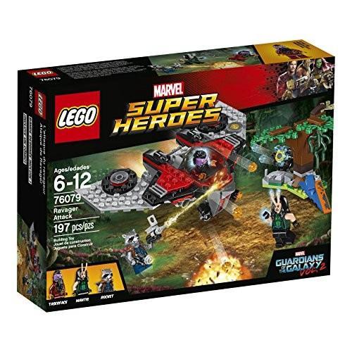 レゴLEGO Marvel Super Heroes Ravager Attack 76079