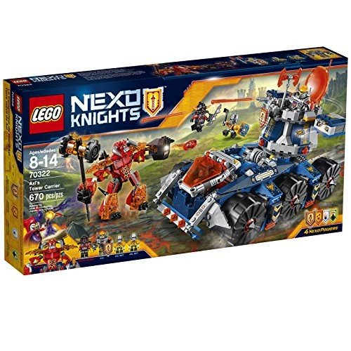 ネックスナイツLEGO Nexo Knights 70322 Axl's Tower Carrier Building Kit (670 Piece)6135816 One Size