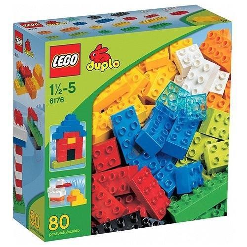 レゴLEGO (LEGO) Duplo basic block (XL) 6176