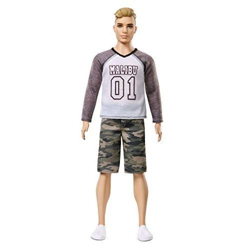 バービー人形Barbie Ken Fashionistas Camo Comeback DollFNH40