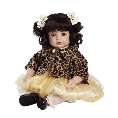 アドラベビードールAdora Pearls and Curls Dark 褐色 Hair with 青 Eyes 20