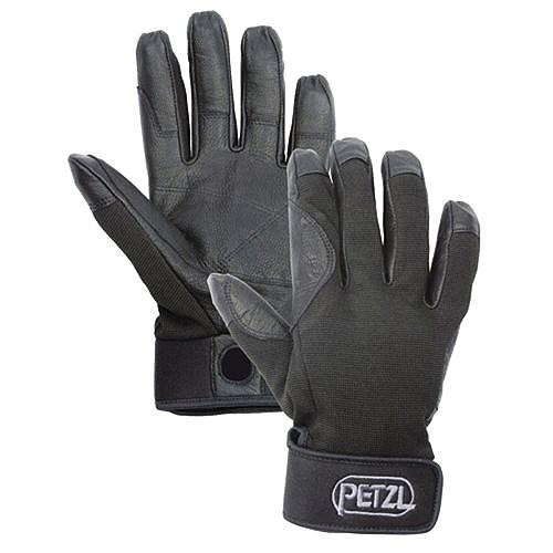 並行輸入品Petzl CORDEX belay/rap glove 黒 MMedium
