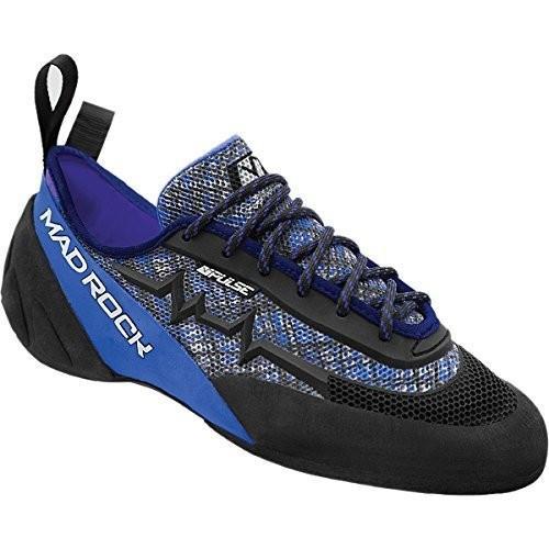 並行輸入品Mad Rock Pulse Climbing Shoe - Positive (青 - High Volume) 7.5439075 7.5 D(M) US