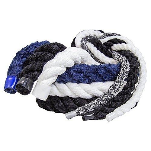 並行輸入品FMS Ultra Soft Triple-Strand 1/4 Inch & 1/2 Inch Twisted Chenille Rope by The Foot, 11/4 Inch x 100 Feet