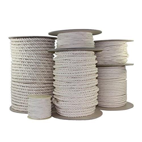 並行輸入品SGT KNOTS Twisted Cotton Rope 5/8 inch All Natural Biodegradable Cord - No Bleach or 5/8 inch x 50 feet