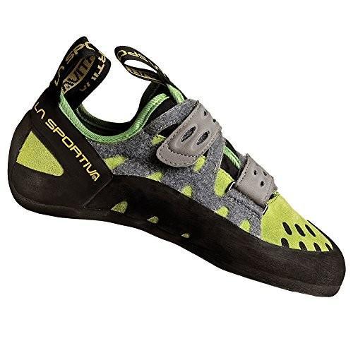 並行輸入品La Sportiva Men's Tarantula Climbing Shoe, Kiwi/Grey, 46.510C-KIWI-46.5 12.5-13