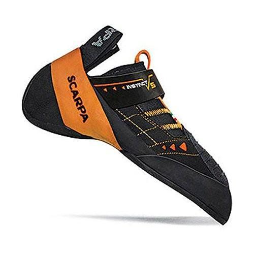 並行輸入品Scarpa Men's Instinct VS Climbing Shoe,Black,42 EU/9 M USINSTINCT VS Climbing Shoe-U 9