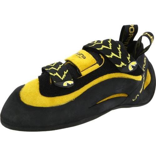 並行輸入品LA SPORTIVA Miura VS Climbing Shoe, Yellow, 37.5Miura VS 5.5