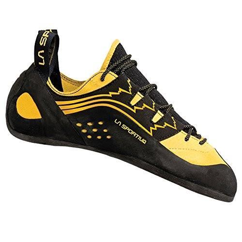 並行輸入品La Sportiva Men's Katana Lace Climbing Shoe 43 M EU (10 M US)800-YELLOW-43 43 M EU (10 M US)