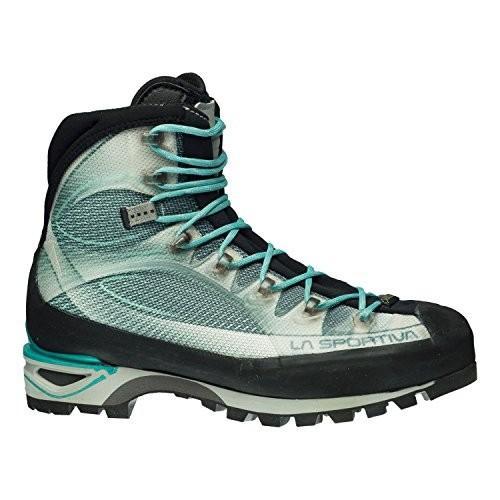 並行輸入品La Sportiva Trango Cube GTX Women's Hiking Shoe, Light Grey/Mint, 38.511K-902609-38.5 38.5 M EU
