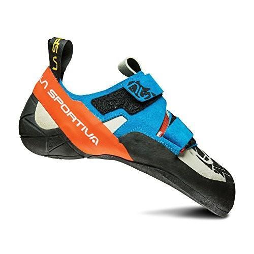 並行輸入品LA SPORTIVA OTAKI Climbing Shoe, Blue/Flame, 4510T-BF-45 11.5