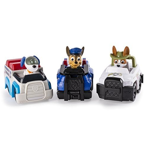 アメリカ直輸入Paw Patrol Racers 3-Pack Vehicle Set, Chase, Robodog & Tracker6035215.0