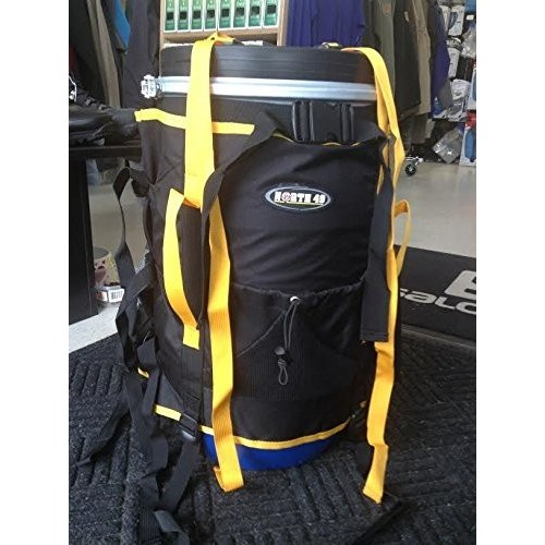 並行輸入品North49 Canoe Barrel Harness Pack 60L, BackpackOne Size
