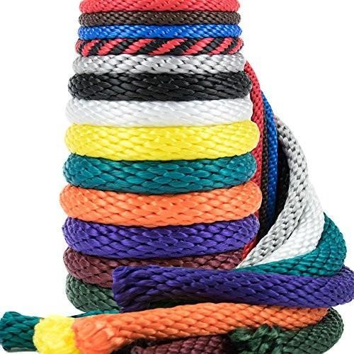 並行輸入品Golberg Rope 1/4-Inch 3/8-Inch 1/2-Inch 5/8-Inch 5/16 - Inch Solid Braid Utility Rope5/16 Inch x 50 Feet