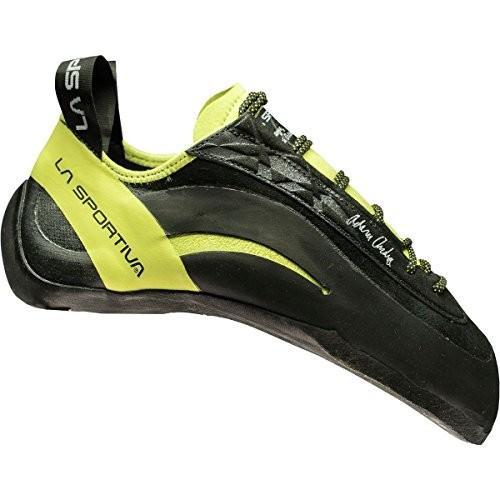 並行輸入品La Sportiva Miura XX Climbing Shoe - Men's Black/Sulphur 4010Z-999702-40 40 M EU