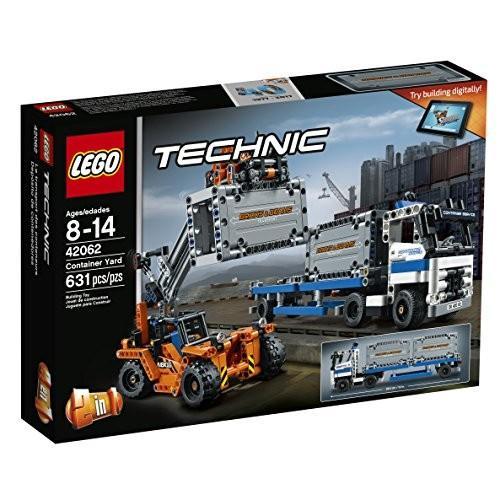 レゴLEGO Technic Container Yard 42062 Building Kit (631 Piece)