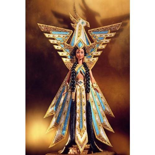バービーBob Mackie Fantasy Goddess of Americas Barbie Doll