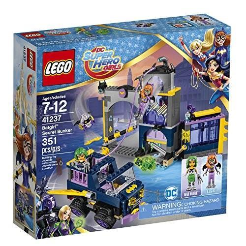 レゴLEGO DC Super Hero Girls Batgirl Secret Bunker 41237 Building Kit (351 Piece)
