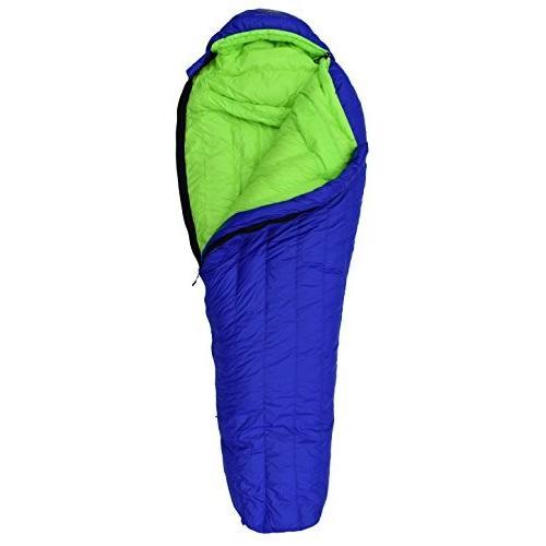 キャンプHyke & Byke Eolus 0 Degree F 800 Fill Power Hydrophobic Goose Down Sleeping Bag with CluRegular
