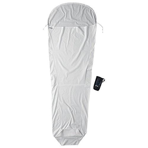 キャンプCocoon Silk MummyLiner (Natural, 95-Inch x 35/22-Inch)SM30 95