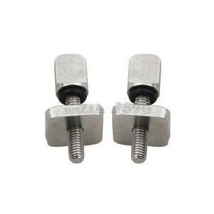 サーフィンThumb Screw Stainless Steel Fin Screw for Longboard and SUP - No Tool Choose 2 or 3 Pack (2 Pack)