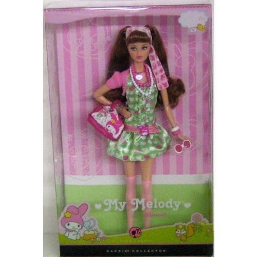 バービーBarbie Collector ピンク Label My Melody Doll by Mattel