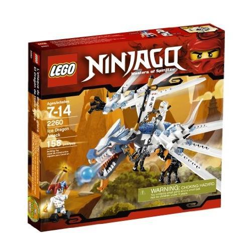 レゴLEGO Ninjago Ice Dragon Attack 2260