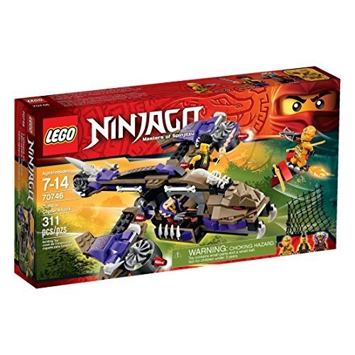 レゴLEGO Ninjago Condrai Copter Attack Toy (Discontinued by manufacturer)